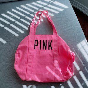 90% new Victoria's secret large gym bag/ schoolbag